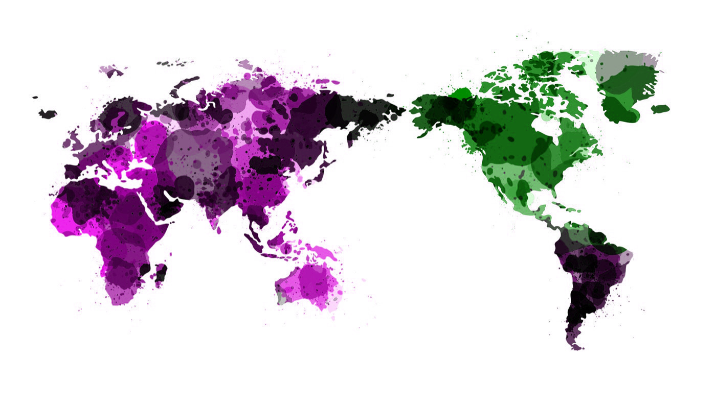 Vector-World-Map-Watercolor Dreamstime.com-ID-28152149 © Sawitri Khromkrathok
